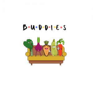 buddies, vegan buddies
