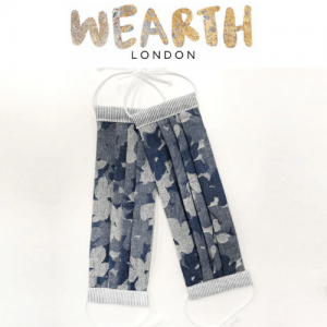 wearth london, sustainable face masks, reusable face masks, cruelty free face masks