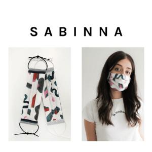 reusable face masks, vegans fare, sabinna face masks