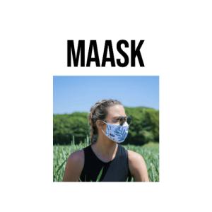 maask, sustainable face masks, ethical face masks, vegans fare, reusable face masks