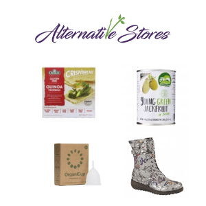 alternative stores vegan products clothes boots beauty and food