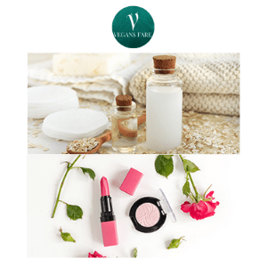 vegan beauty and skincare products, vegans face