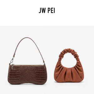 jw pei bags and handbags made from vegan leather,