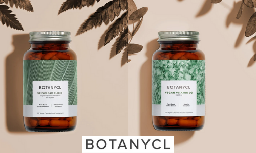 botancyl vegan plant based capsules for skin conditions and vitamin d supplements, vegan health and nutrition products