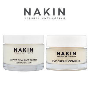 nakin natural anti ageing skin care creams for eye and moisturisers that are vegan friendly