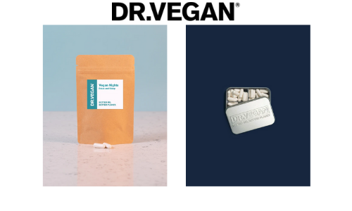 dr vegan vegan ethical vitamins and supplements day and night capsules for sleep and relaxation